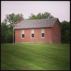 Old school house, Washington, Iowa