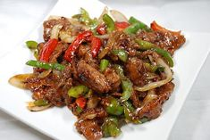Skinny Points – Recipes » One-Pot Black Pepper Chicken