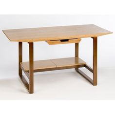 @Overstock - Stylish Breeze desk helps you build an office to suit your needs Home office furniture features an attractive design using bamboo veneers and stained as veneer legsTable is handcrafted using bamboo and wood materials  http://www.overstock.com/Home-Garden/Breeze-Desk-with-Wood-Legs/3511494/product.html?CID=214117 $302.99