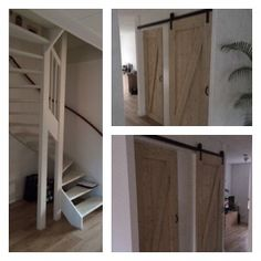 Van open trap naar dichte trap met kast! Ontwerp en realisatie www.meubelenmaatwerk.nl/www.steigerhoutenzo.nl