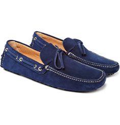 8a8961632f Cobalt blue driving shoe Driving Shoes Men