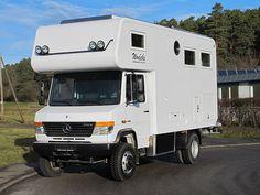 Mercedes Vario 818 CDI - 4x4 - 6300 - 2012 Cool Campers, Rv Campers, 4x4, Mercedes Vario, Outback Campers, Big Van, Cool Rvs, M Benz, Moto Car