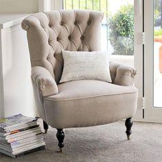 Cambridge Fabric Armchair Stone Importer NZ