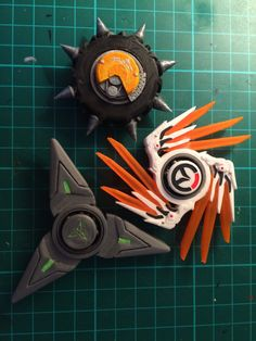 Overwatch Genji shuriken hand spinner by SmartModelsUK on Etsy
