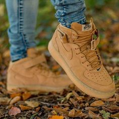 @mikez_tagram killing it in these #airforce1 High 'Flax' ! A killer shoe showing us there is definitely life left in the ol' Air Force model! Keep tagging your shots with #wearyourair for a shoutout!