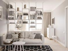 Condo Interior Design, Small Apartment Interior, Small Apartment Design, Small Apartments, Interior Livingroom, Interior Designing, Interior Modern, Interior Paint, Small Spaces