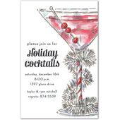 Holiday Cocktail Invitations, Tinsel Cocktail, 30554