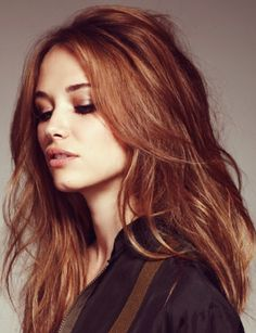 All I've been pinning lately is auburn hair....am totally giving this one a go next week - absolutely gorgeous colour!