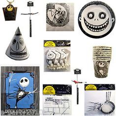 Nightmare Before Christmas Birthday Halloween Party Supplies Pick 1 or Many | eBay