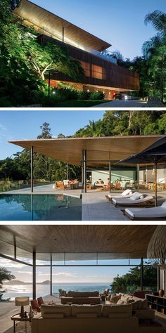 Bernardes Arquitetura have designed a home with amazing views for a Brazilian family with three children.