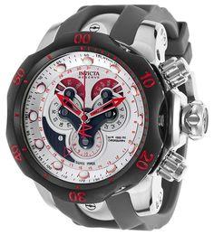 Invicta 14467 Venom Reserve Silver Dial Gunmetal Chronograph Watch