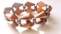 Chunky Kupfer modernistischen Armband Vintage von CrimsonVintique