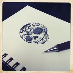 Skull drawing ideas