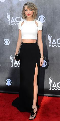 Love this whole look actually ACM Awards 2014 Red Carpet Arrivals - TAYLOR SWIFT from #InStyle