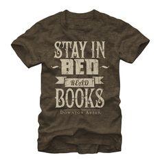 Downton Abbey Men's - Read Books T-Shirt #downton #downtonabbey #pbs #books