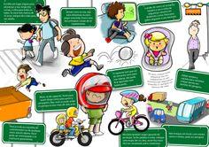 ilustras cartilha Trânsito - LOA publlicidade