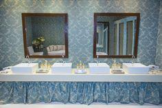 Papel de parede para decoração de casamento - Foto Márcia Charnizon