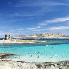 """Stintino spiaggia """"La pelosa """".-Sardinia #Cerdeña #Sardegna"""