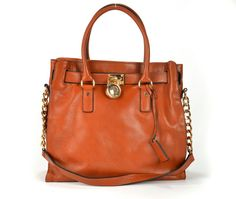 MICHAEL Michael Kors Hamilton Large Tote Bags Brown welcome by women.