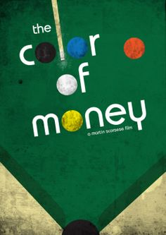 Color Of Money Paul Newman Tom Cruise-Murrey Billiard Pool 1987 ...