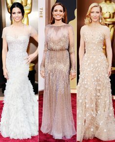 2014 Oscars: Red Carpet Fashion Trends - Sparkle and Sheer from #InStyle