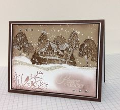 This is for F4A197 and SUO84.  I CASE'd a card that I have had in my Favorites folder since 2011 and am finally getting around making it (http://www.splitcoaststampers.com/gallery/photo/2049731?si=christmas%20lodge&perpage=48&thumbsonly=0&thumbcheck=).   My Blog: http://stampingandcreating.blogspot.com/2013/11/peace-on-earth.html