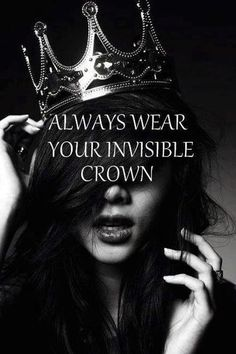 We women are the queen of our own kingdom..!