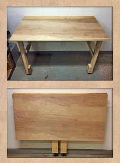 Easy to Build Folding Workbench | Cutting the cable