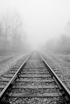 Foggy Tracks by Kirpernicus, via Flickr