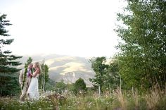 """A mountain-side ceremony at The Ritz-Carlton Bachelor Gulch sets a spectacular scene to say """"I do"""". Make sure your photographer takes pictures from above and below to capture every angle of the beautiful scenery. Outdoor Wedding Venues, Beautiful Scenery, Hotels And Resorts, Avon, Colorado, Mountain, Luxury, Celebrities, Pictures"""