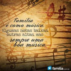 família é família e ponto!