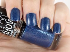 Polish Nail, Color Show, Maybelline, Denims, Beautezine