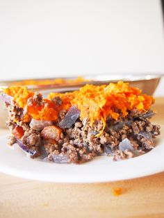 Sweet Potato Shepherd's Pie - a healthy, gluten free, Whole 30 twist on the classic that the whole family will love for dinner!
