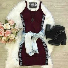 Teenager Outfits, Swag Outfits For Girls, Cute Teen Outfits, Teenage Girl Outfits, Cute Comfy Outfits, Pretty Outfits, Stylish Outfits, Outfits For Teens For School, Tween Trendy Clothes