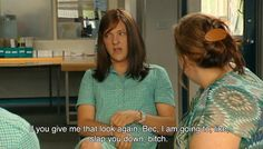 je suis triste on We Heart It Reaction Pictures, Funny Pictures, Happy Pictures, Funny Pics, Summer Heights High, Chris Lilley, Private School Girl, Chloe Price, Comedy Tv