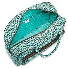 Weekender Travel Bag in Shower Vines | Vera Bradley