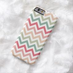 Awesome iPhone 6 Case! Aztec Pink Red Green Chevron Girly Pattern iPhone 6 Case. It's a completely customizable gift for you or your friends.
