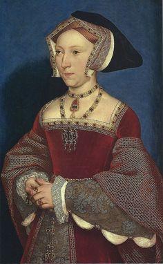 Portrait of Jane Seymour, by Holbein (c.1536-7)
