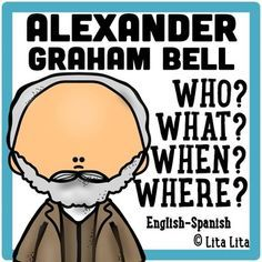 This is a 'fold and learn' about Graham Bell as an inventor.It includes a foldable with the questions: Who? 5th Grade Social Studies, Social Studies Activities, Teaching Social Studies, Science Activities, Teaching Resources, Bilingual Classroom, First Grade Classroom, Science Classroom, First Grade Science