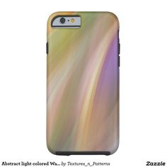 Abstract light colored Waves Tough iPhone 6 Case  #abstract #pattern #lines #wave #movement #swing #light #rays #colorful #background #texture #mood #lights #color #motion #rainbow #mellow #iphonecase #iphone