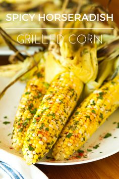 Grilled Corn on the