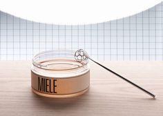 Hexagonal Honey Spoon by Miriam Mirri