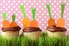 Easter Cupcakes & Spring Table Decor   via @Sharon Macdonald Avey HQ   Find Fiskars & more at joann.com