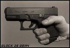 Glock 26 gen 4 with grip extension. - Google Search