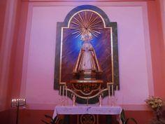 Imagen de Nuestra Señora de Gracia. Ermita de San Roque