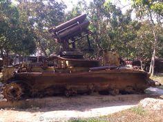 Peace in Cambodia, visiting the war museum - Author Anton Swanepoel's Blog