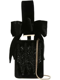 Shop Givenchy wrist strap velvet clutch in Stefania Mode from the world's best independent boutiques at farfetch.com. Shop 300 boutiques at one address.