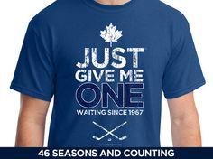 Just One Before I Die - Toronto Maple Leafs Hockey t-shirt – JustOneSports