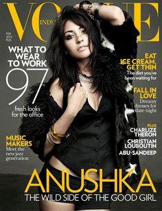 Vogue India February 2012:   Anushka Sharma