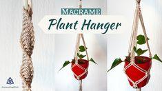 Minimalistic Macrame Plant Hanger DIY   #macrame #macramemagicknots #macrameplanthangerdiy #macrameplanthanger #macrameplanthangertutorial #minimalistsplantdecor  #planthangerdiy #planthanging #wallhanging #macrametutorial #macramedesign #plants #diy #minimalistdiyroomdecor #diydecor #projects #gardendiy #gardendecor #easymacrame #beginnersplanthanger #beginnersmacrame Magic Knot, Macrame Plant Hangers, Macrame Tutorial, Macrame Knots, Diy Projects, Etsy Shop, Christmas Ornaments, Plants, Handmade